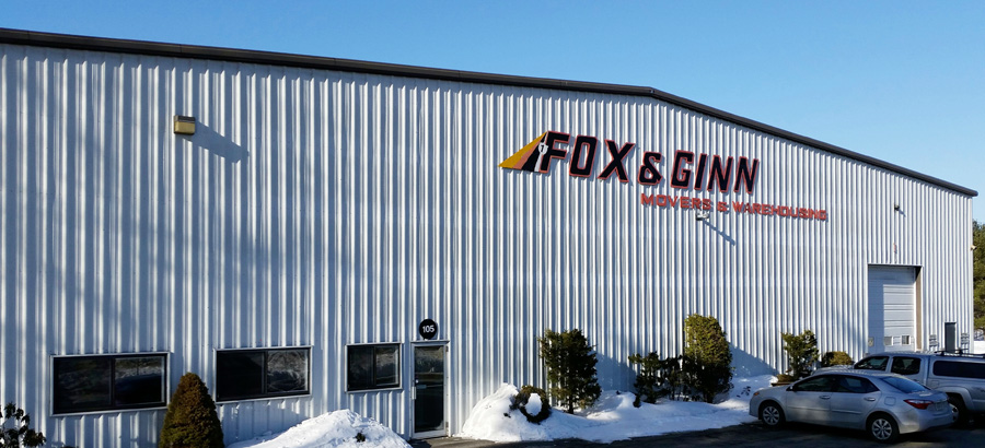 Household storage warehouse at Fox & Ginn Movers